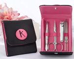 The Cosmopolitan Monogrammed 5 Piece Manicure Set