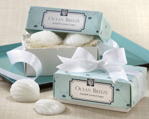 Ocean Breeze Scented Seashell Soaps