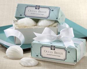 Ocean Breeze Scented Seashell Soaps