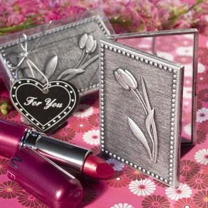 Floral Design Compact=