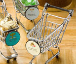 Personalized Expressions Collection Shopping Cart Favors