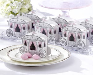 Enchanted Carriage Favor Boxes