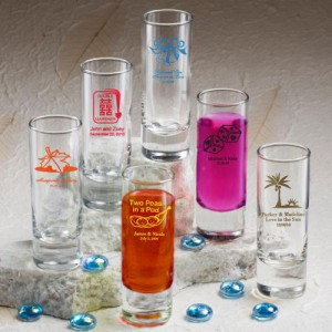 Shooter Glass shot glass wedding favors