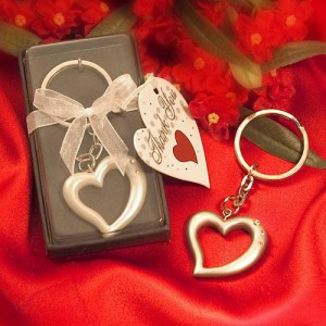Heart Design Key Rings