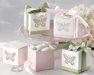 Butterfly Laser-Cut Favor Boxes