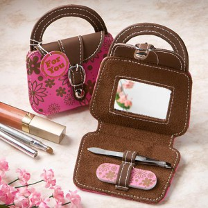 Adorable Mini Pink Handbag Design Beauty Kits