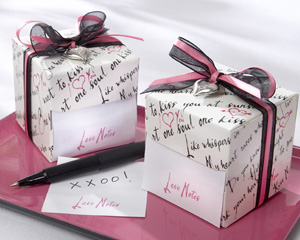 &quot;Love Notes&quot; Sticky Notes in Nostalgic Dispenser Gift Box with Dainty Heart Charm