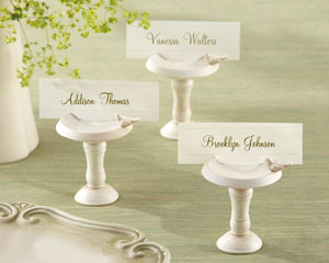 """Sweetwater Park"" Bird Bath Place Card Holder"