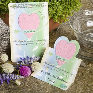Unique Wildflower Seed Favors - Pink