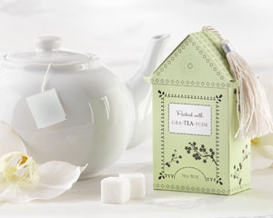 """Gra-TEA-Tude"" Tea Box with Tea Bag Kit"