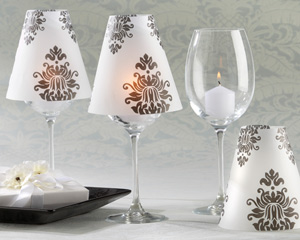 Damask Vellum Shades