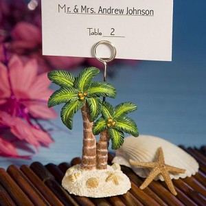 Ocean Breezes Collection Palm Tree Place Card Holders