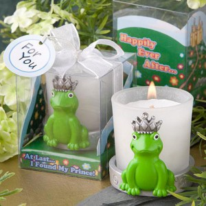 At Last I Found My Prince Collection Frog Votive Candle Holders