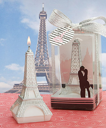 Love In Paris Collection Eiffel Tower Candles