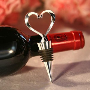 Heart Wine Bottle Stoppers