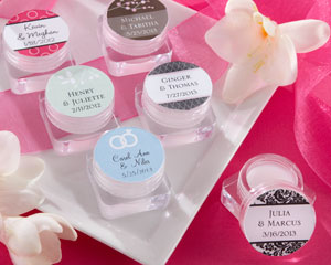 """Sweet Kisses"" Personalized Lip Balm - Wedding"