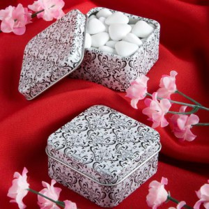 Damask Design Mint Tins