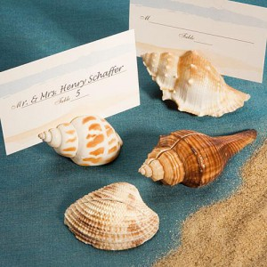 Shell Design Place Card Holders