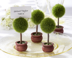"Topiary Photo Holder/Place Card Holder ""As Seen in Modern Bride Aug/Sept 2008"""