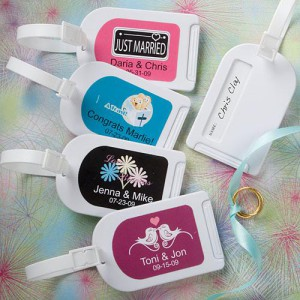 Personalized Expressions Collection Luggage Tag Favors