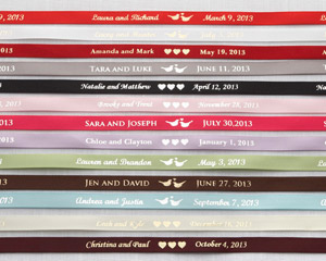 &quot;Sweet Send-Off&quot; Ribbons