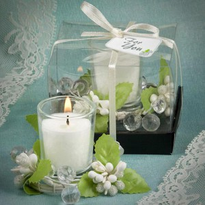 Stunning Votive Candle Favor