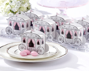 """Enchanted Carriage"" Favor Boxes"