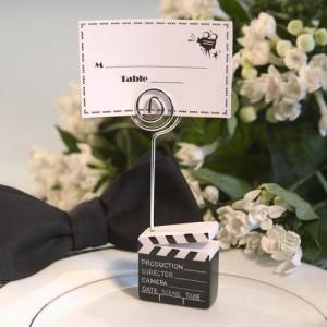 movie theme wedding favors