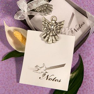 angel wedding favors