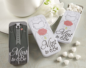 wedding favor tins
