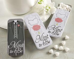 wedding favor tins
