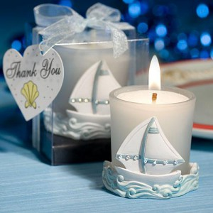 candle wedding favors