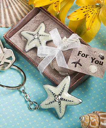 starfish wedding favors