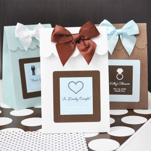 Most Popular Types of Wedding Favor Pins on Pinterest