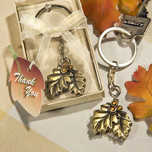 Beautiful Fall Wedding Favors That Go with Any Theme