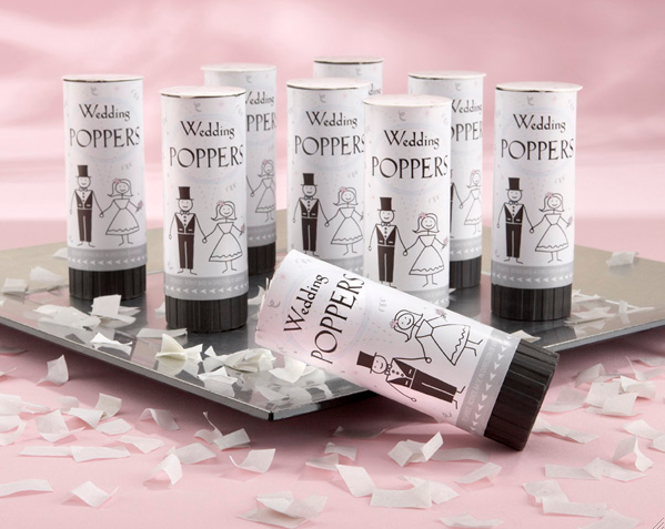 """Have a Blast!"" Biodegradable Celebratory Wedding Poppers"