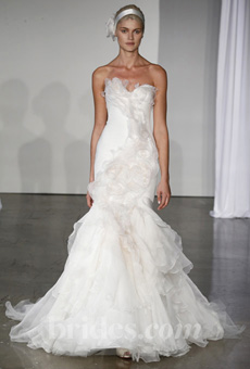 Marchesa Fall 2013 Wedding Gown