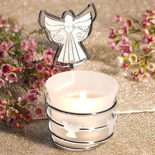 Guardian Angel Photo/Place Card Holder Candles