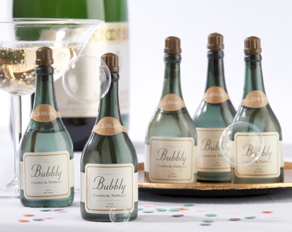 """Bubbly"" Champagne Bubbles"