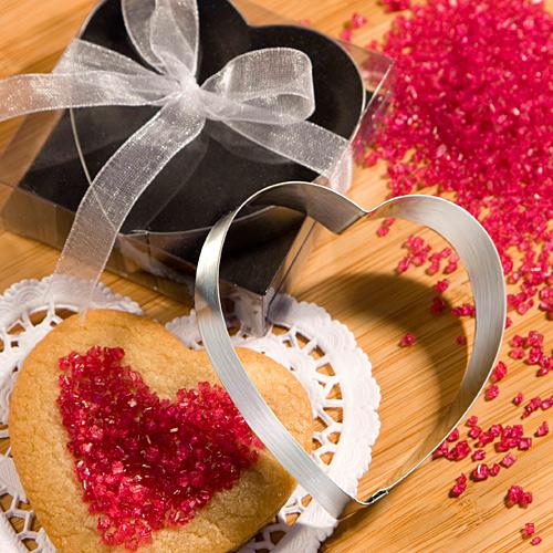 Heart Shaped Cookie Cutters From The Favor Saver Collection