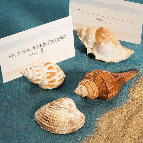 Natural Selections Collection Shell Design Place Card Holders