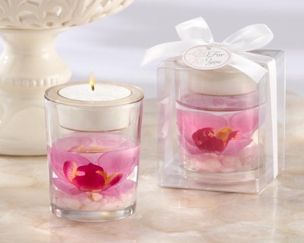 """Elegant Orchid"" Tealight Holder"