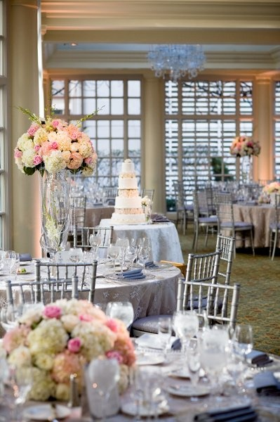 Indoor Spring Wedding Reception