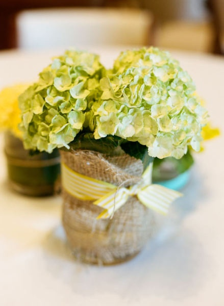 Charming and Rustic Floral Arrangement