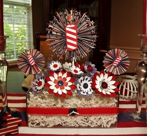 Fourth of July Wedding Decor