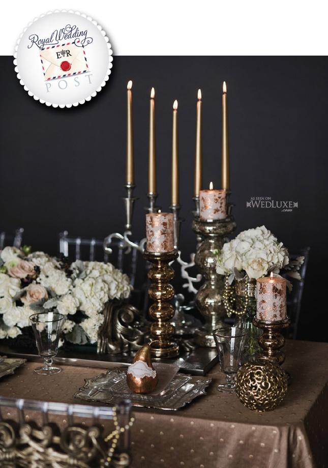 Different Height Centerpieces