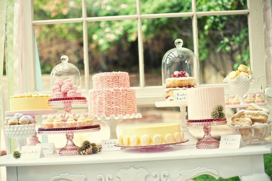 Tea Party Dessert Buffet