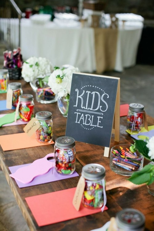 Kids Table Idea