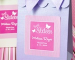 Sweet Shoppe Candy Boxes - Sweet Sixteen or 15 wedding favors