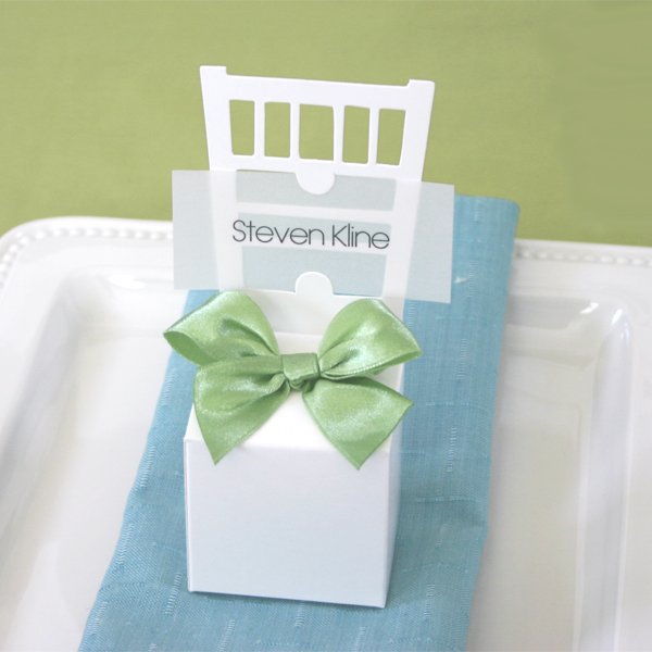 Chair Place Card Boxes wedding favors